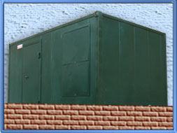 Блок контейнер - Здание мобильное 4,5 м.