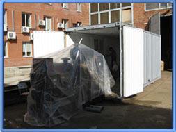 Блок контейнер - Здание мобильное 6 м.