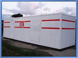 Блок контейнер - Здание мобильное 9 м.