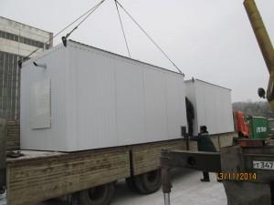 Отгрузка оборудования