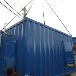 Блок-контейнер металлический цельносварной
