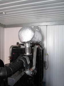 Отвод выхлопных газов